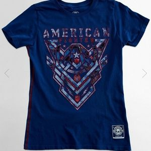 ISO Affliction/American Fighter Tops!